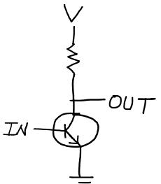 인버터 트랜지스터 회로