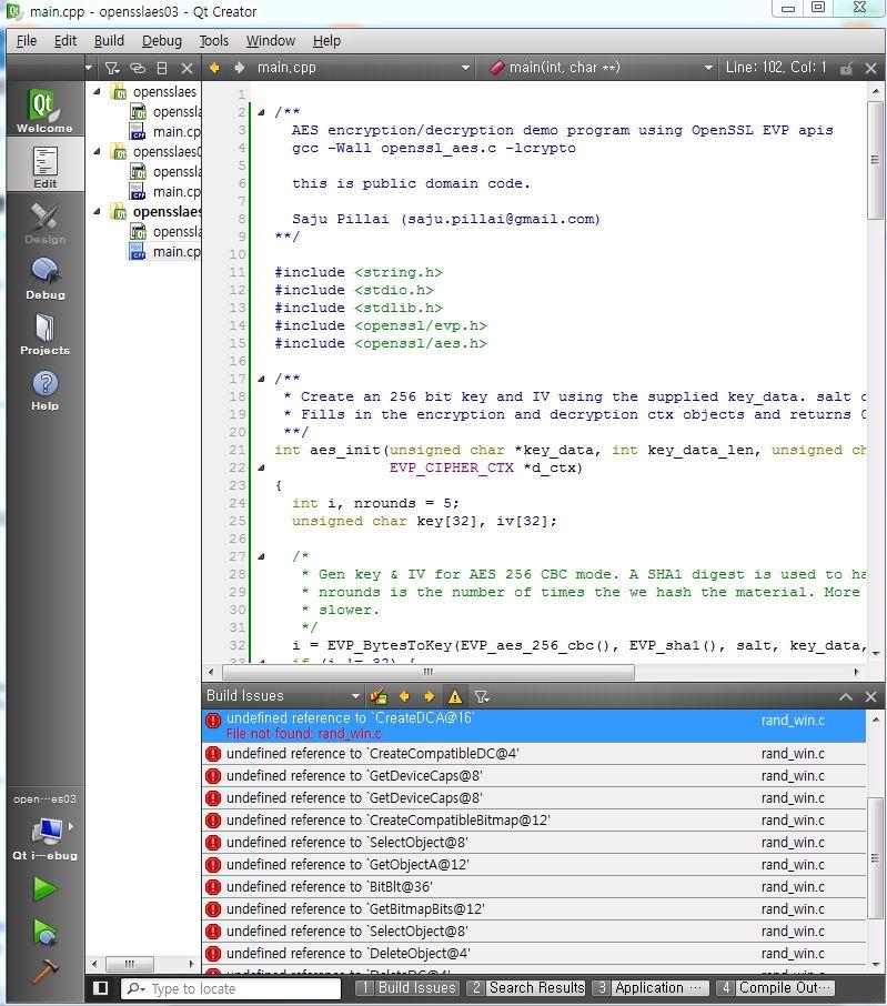openssl 설치기와 질문입니다  qt(mingw32) + window7(64bit) | KLDP