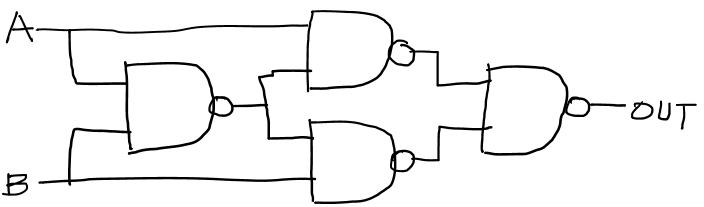 XOR게이트 구성